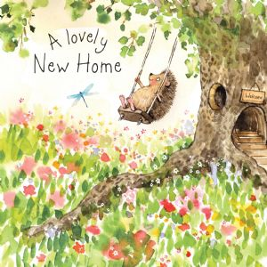 FIZ17 - New Home Card Hedgehog